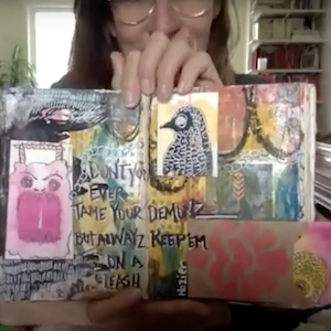 Intro to Art Journaling - Class 4 Prompts
