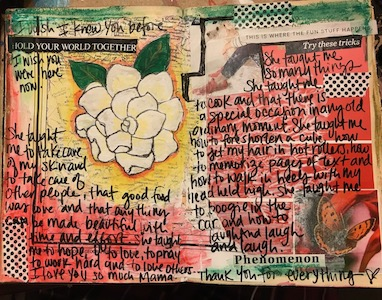 Intro to Art Journaling - Class 5 Prompts