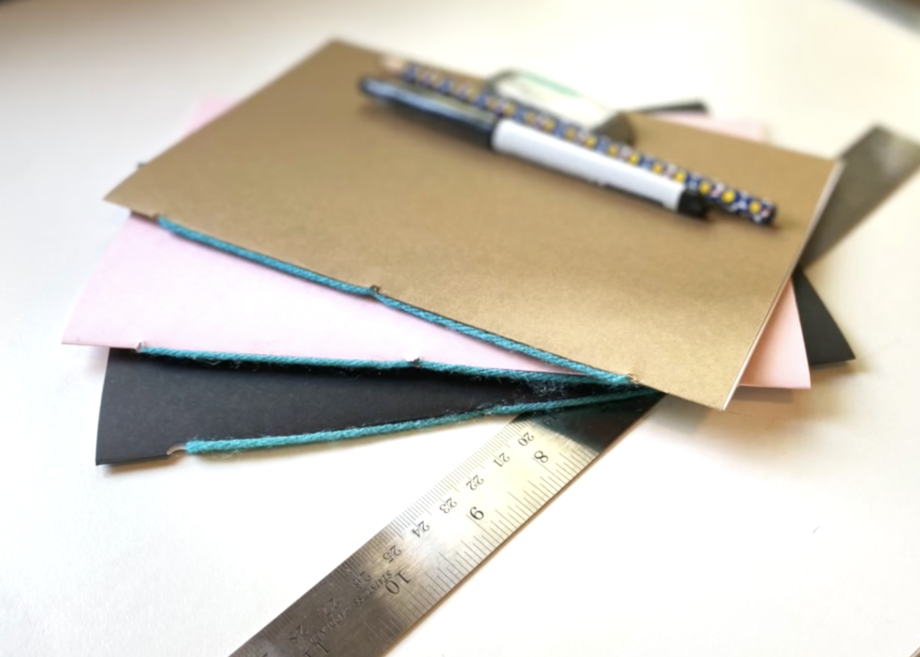 Binding a Simple Sketchbook